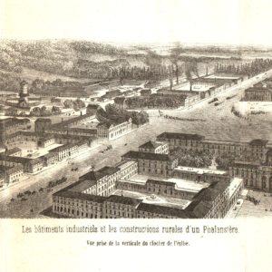 Batiments industriels et constructions rurales d'un phalanstere