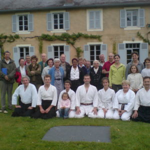 Une équipe Aikido invitée et des colons vers 2011