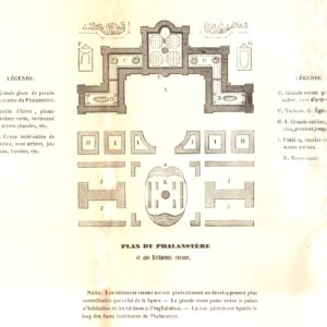 Plan du phalanstère