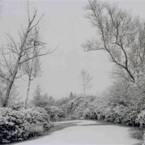 Réservoirs sous la neige