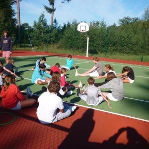 Stage de tennis des enfants