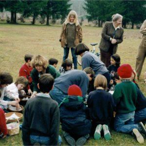 Distribution des oeufs de Paques - 1996